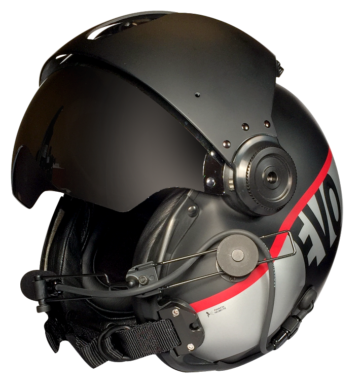 Evolution Helicopter Helmets for Sale | Custom Paint