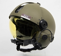 EVO 152 with Carbon Fiber Visor Cover- NON NVG
