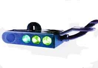 Mic Lite - ML- 23  (2ea Bright NVIS Green A, 1ea Filtered NVIS White)